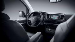 Peugeot Traveller, plancia automobilistica