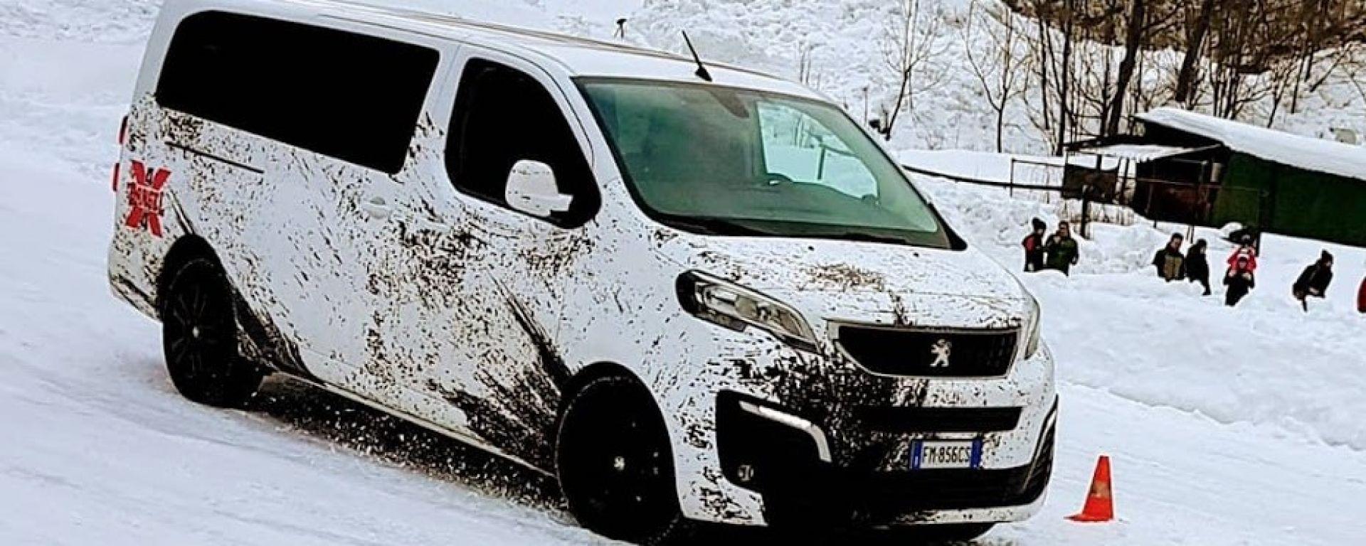 Peugeot Traveller: alla prova il 4x4 integrale by Dangel