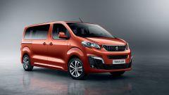 Peugeot Traveller, quattro allestimenti
