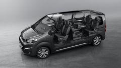Peugeot Traveller, spazio modulabile a piacimento