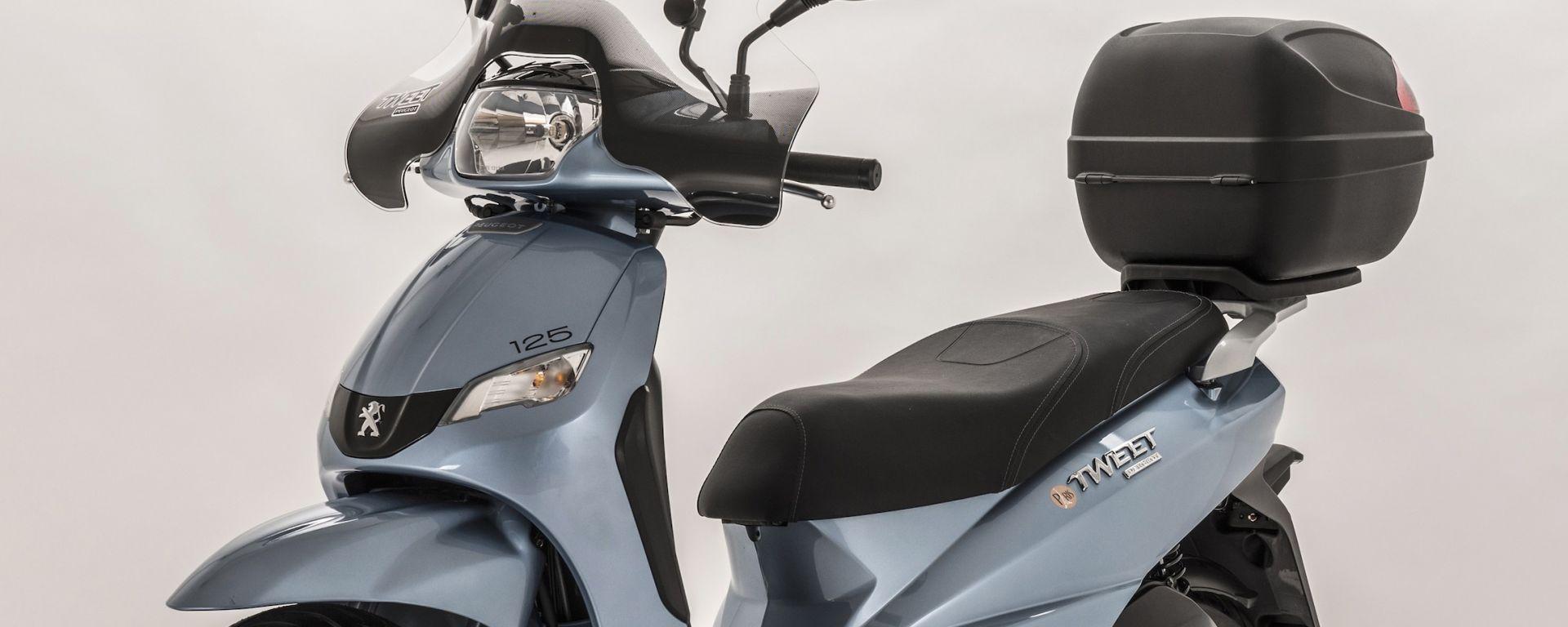 Novit scooter peugeot tweet paris e double black motorbox for Garage scooter peugeot paris