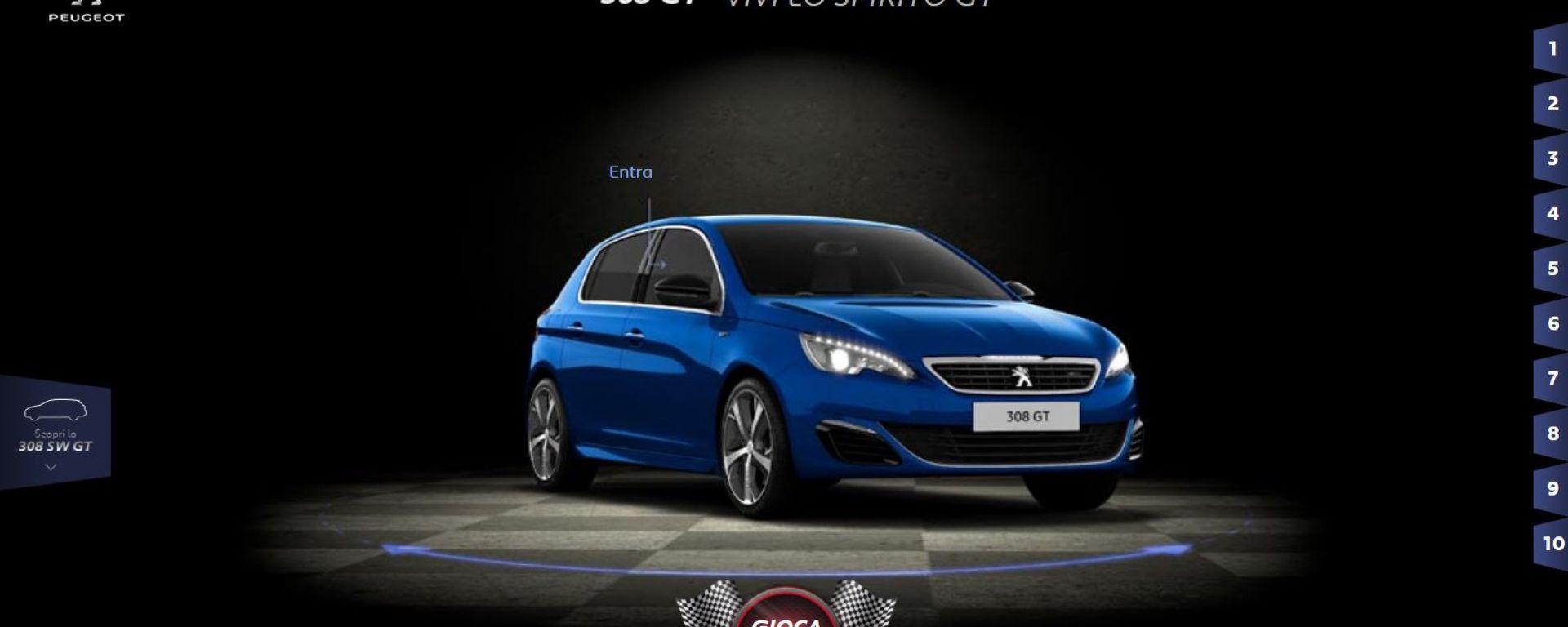 Peugeot: Vivi lo spirito GT