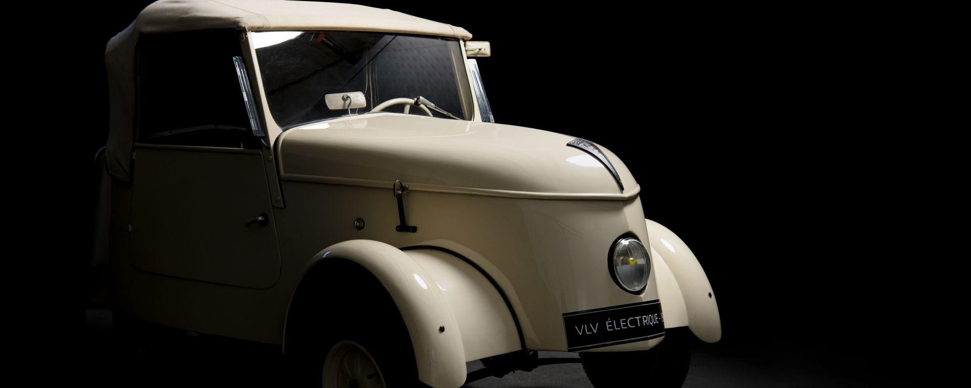 Peugeot VLV: la prima elettrica del Leone