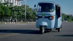 Piaggio Ape Car E-City: il frontale