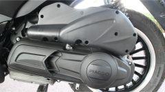 Piaggio Beverly 300 Police: dettaglio del gruppo motore-trasmissione