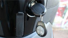 Piaggio Beverly 300 Police: la chiave con telecomando