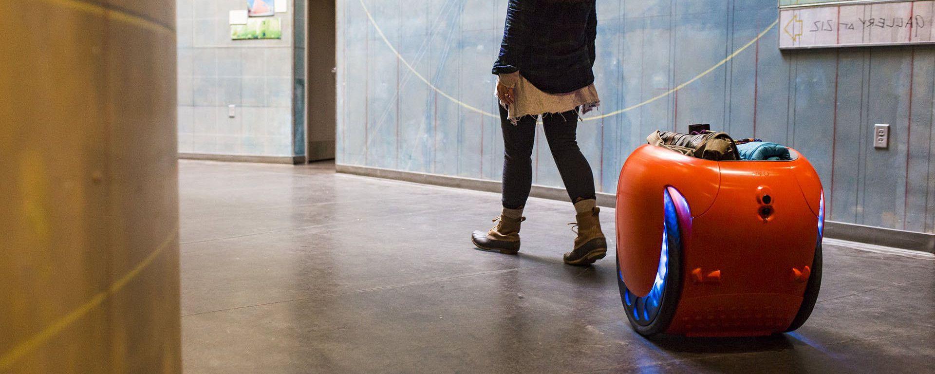 Piaggio Gita, il maggiordomo robot personale