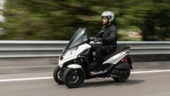Piaggio MP3 300 HPE Sport, il test ride