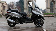Piaggio Mp3 300 vs Kawasaki J300 vs Honda SH300i ABS - Immagine: 17