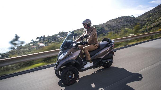 Piaggio MP3 500 hpe Sport Advanced 2021: il più potente 3 ruote