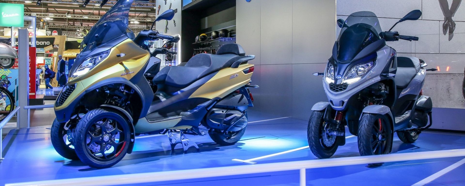 Piaggio MP3 500 HPE Sport Advanced, Eicma 2018
