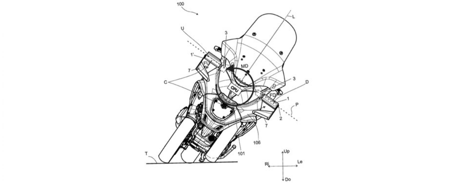 Piaggio MP3, il brevetto dell'aerodinamica attiva