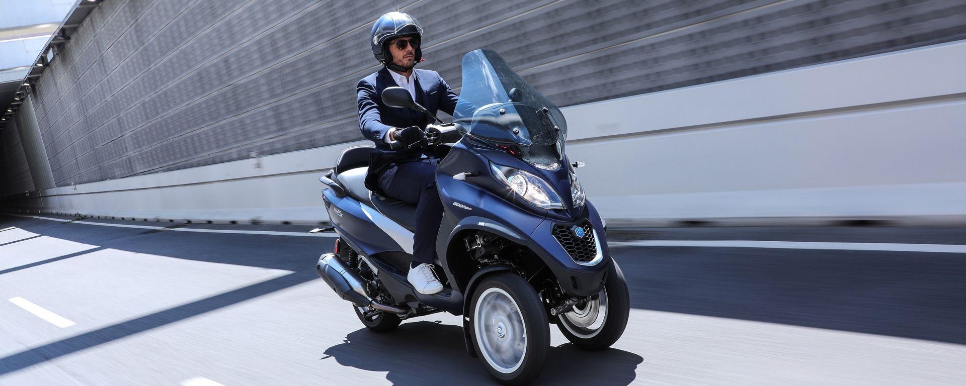 Piaggio MP3: scopri i nuovi scooter durante gli Urban Days