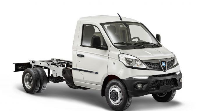 Piaggio Porter NP6 2021: versione Chassis, dalle ampie possibilità di personalizzazione