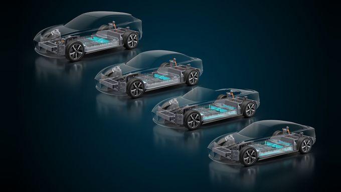 Piattaforma Williams EVX: per SUV e non solo