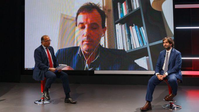 Pierluigi Bonora (#FORUMAutoMotive) e Geronimo LaRussa, presidente ACI MIlano