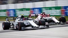 Pierre Gasly (Alpha Tauri) e Kimi Raikkonen (Alfa Romeo)
