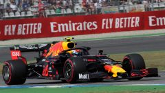 Pierre Gasly (Red bull) in pista in Germania