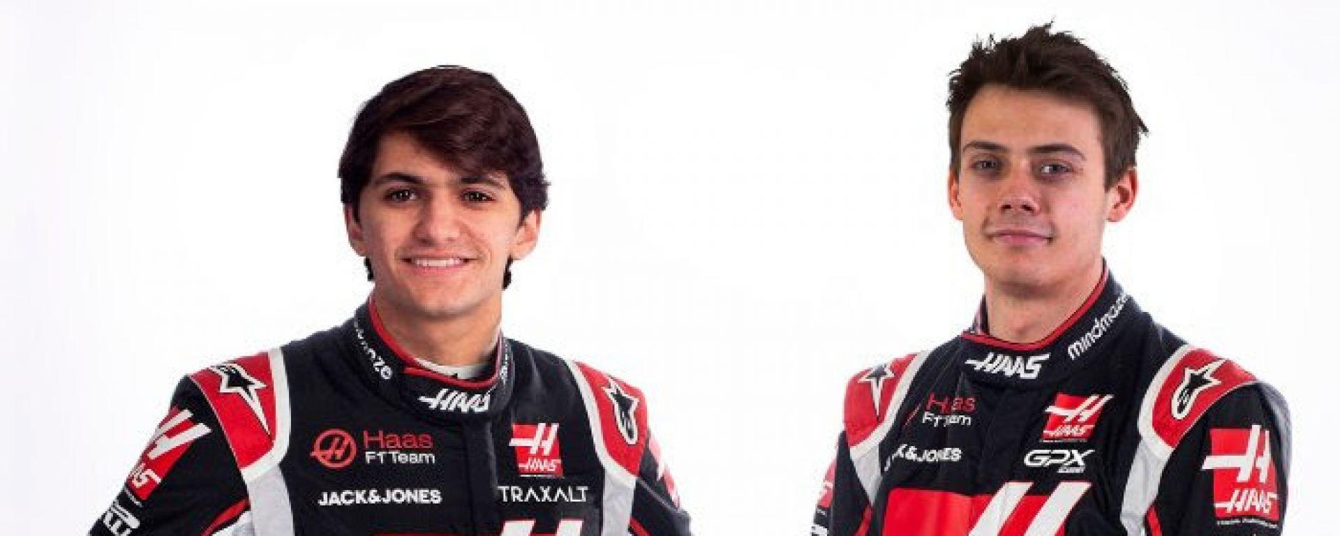 Pietro Fittipaldi e Louis Deletraz, i piloti di riserva del Haas F1 Team