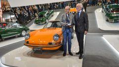 Pietro Innocenti, CEO Porsche Italia premiazione Porsche Classic a Padova Fiera Auto e Moto d'Epoca 2019