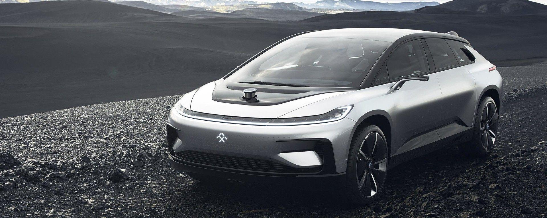 Pike's Peak: la Faraday Future FF 91 batte la Tesla Model S