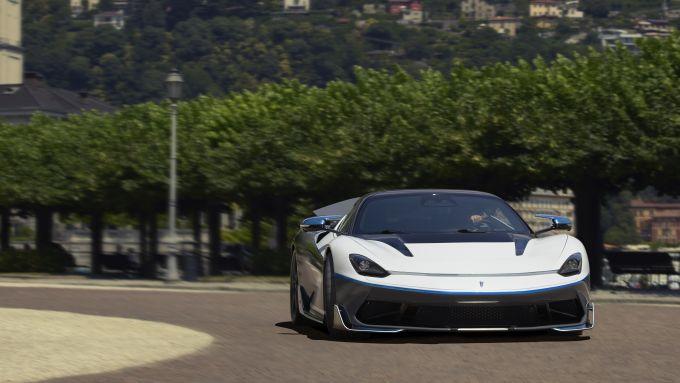 Pininfarina Battista: 4 motori elettrici per 1.900 CV di potenza
