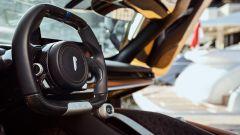 Pininfarina Battista: il volante