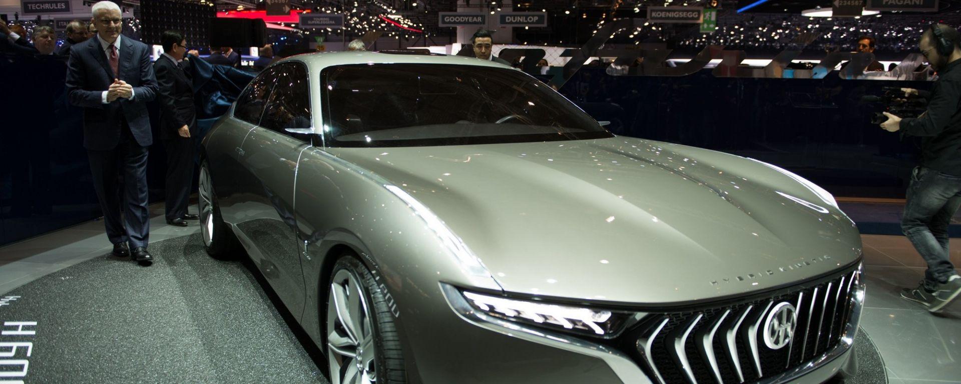 Pininfarina H600, debutto al Salone di Ginevra 2017