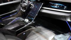 Pininfarina H600, gli interni con la pulsantiera touch