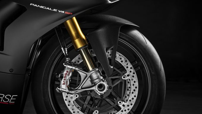 Pinze Brembo Stylema R sulla Ducati Panigale V4 SP