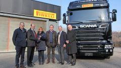 Pirelli: uno Scania per laboratorio - Immagine: 4