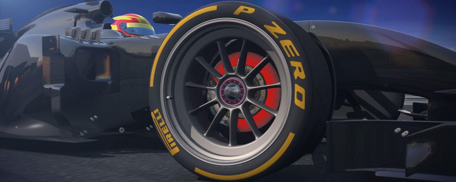 Pirelli 18 pollici concept