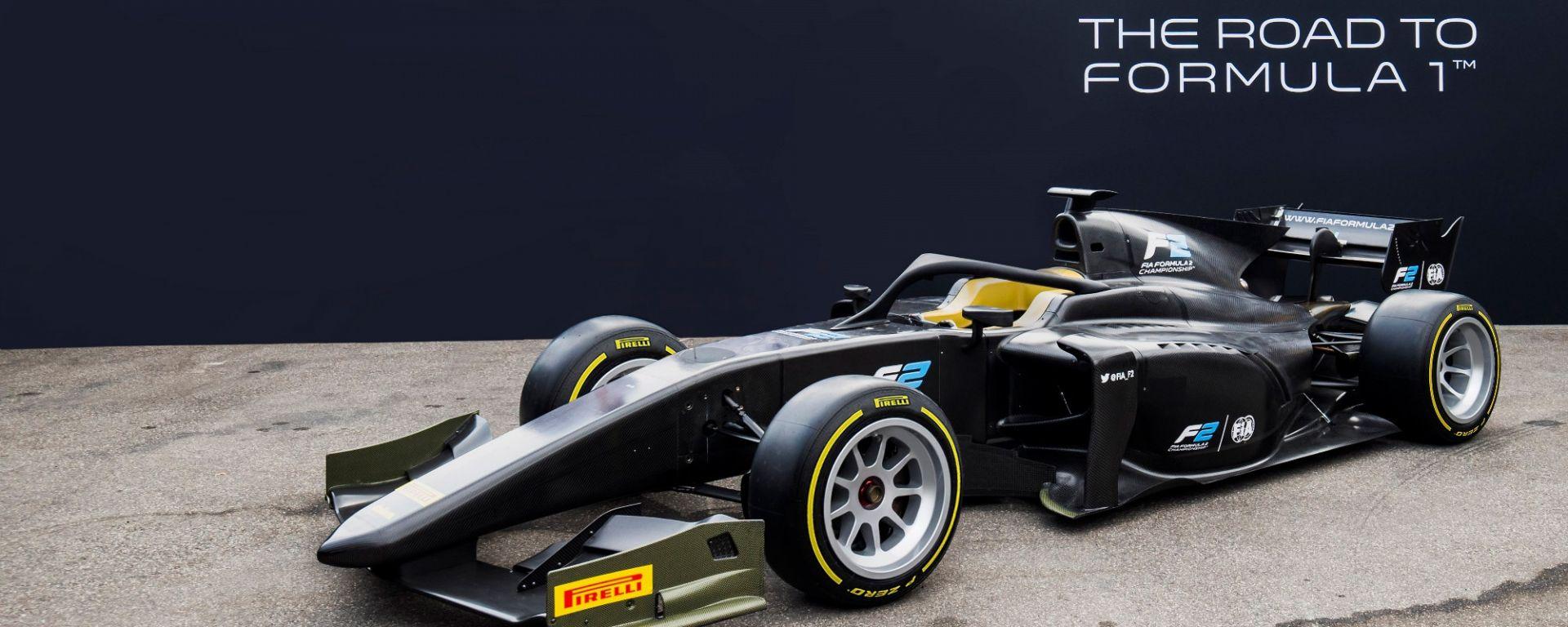 Pirelli, dal 2020 le gomme da 18 pollici in F2 con vista F1