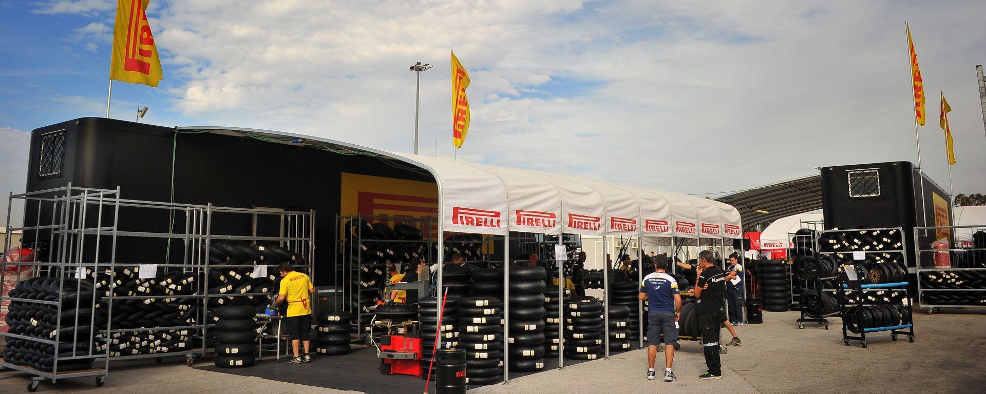 Pirelli: a Misano le nuove slick maggiorate per la SBK