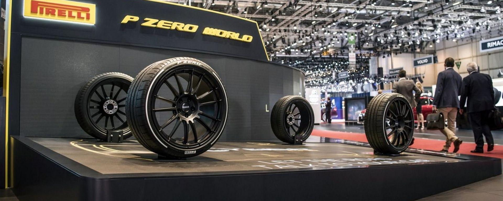 Pirelli Cyber Car a Ginevra 2018