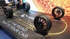 Pirelli Cyber Car, auto e pneumatico comunicano tra di loro