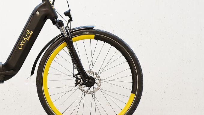 Pirelli Cycl-e Around, con le Pirelli Nomades