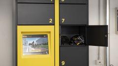 Pirelli Cycl-e Around, gli smart locker per i dipendenti