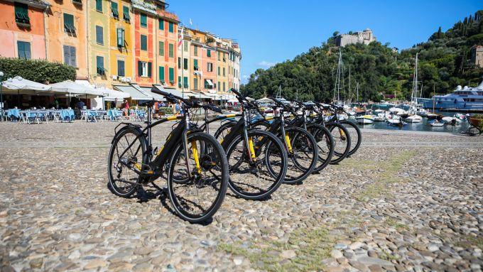 Pirelli Cycl-E: il modello Nomades a Portofino