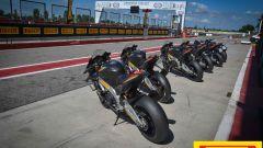 Pirelli Diablo Superbike SC3, il test in sella alle Aprilia