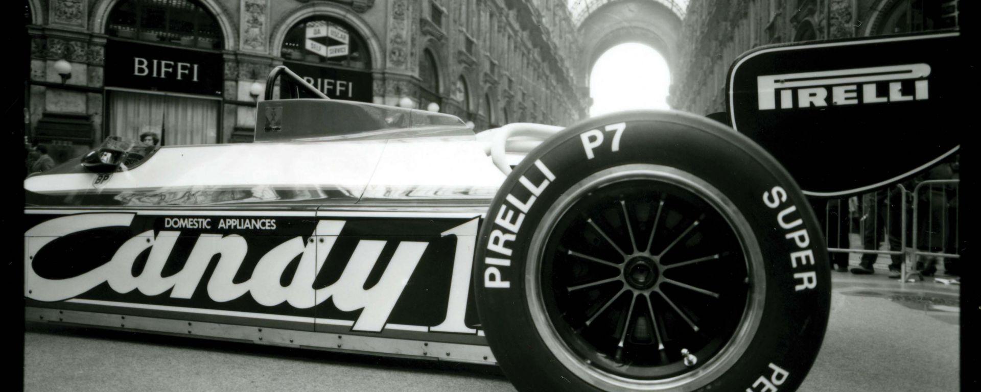 Pirelli e F1: un po' di storia