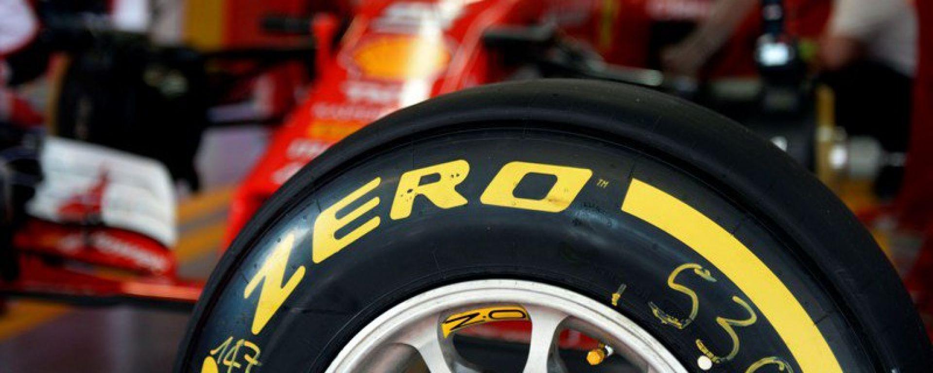 Pirelli F1 2017: i nuovi pneumatici in pista con Ferrari