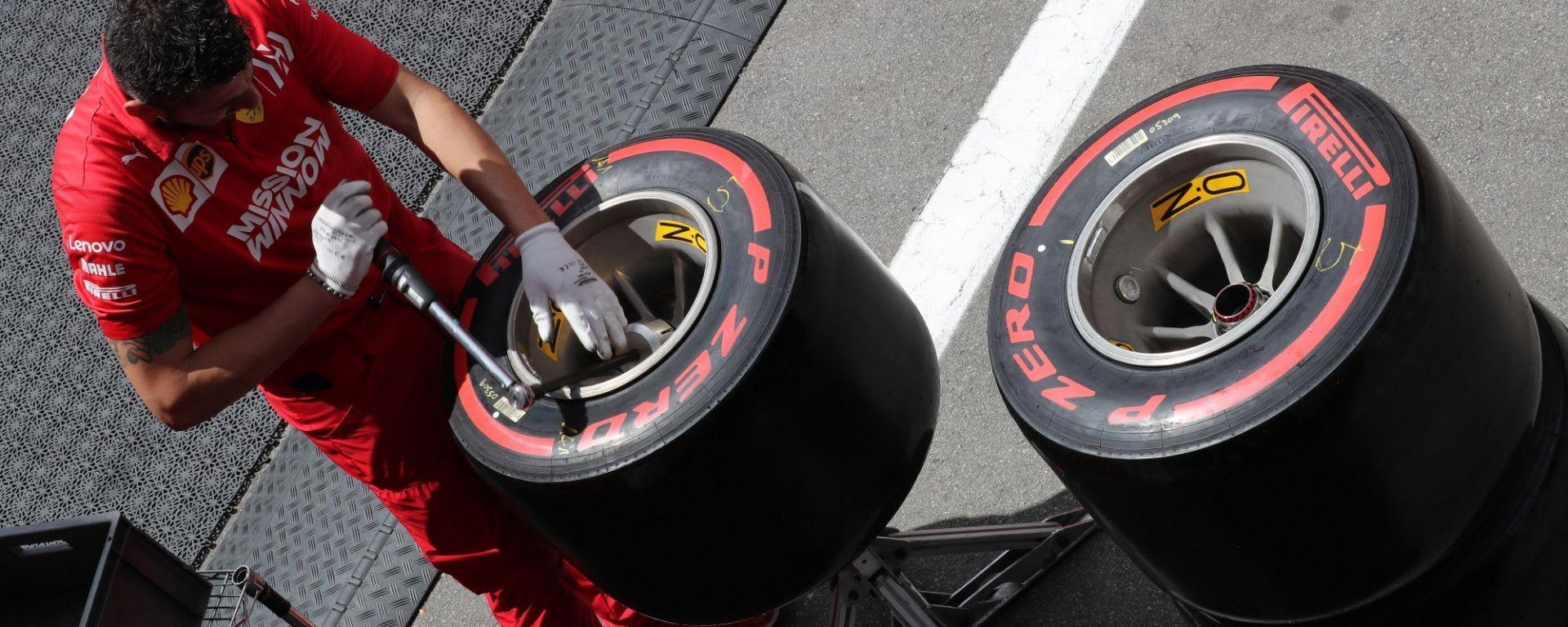 Pirelli, GP Austria: Scelte differenti per i cinque top driver