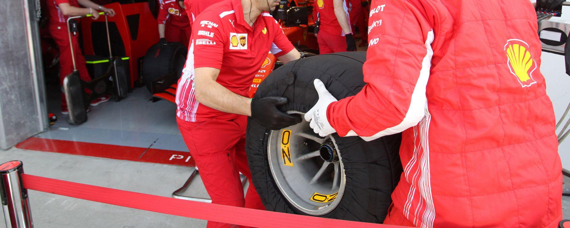 Pirelli, GP Francia: scelte identiche di Ferrari e Mercedes