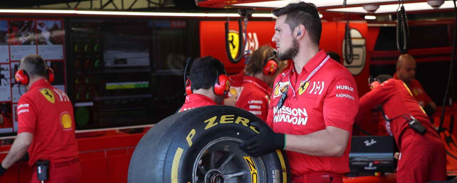 """Pirelli, la Ferrari in Canada punta forte sulle """"gialle"""""""