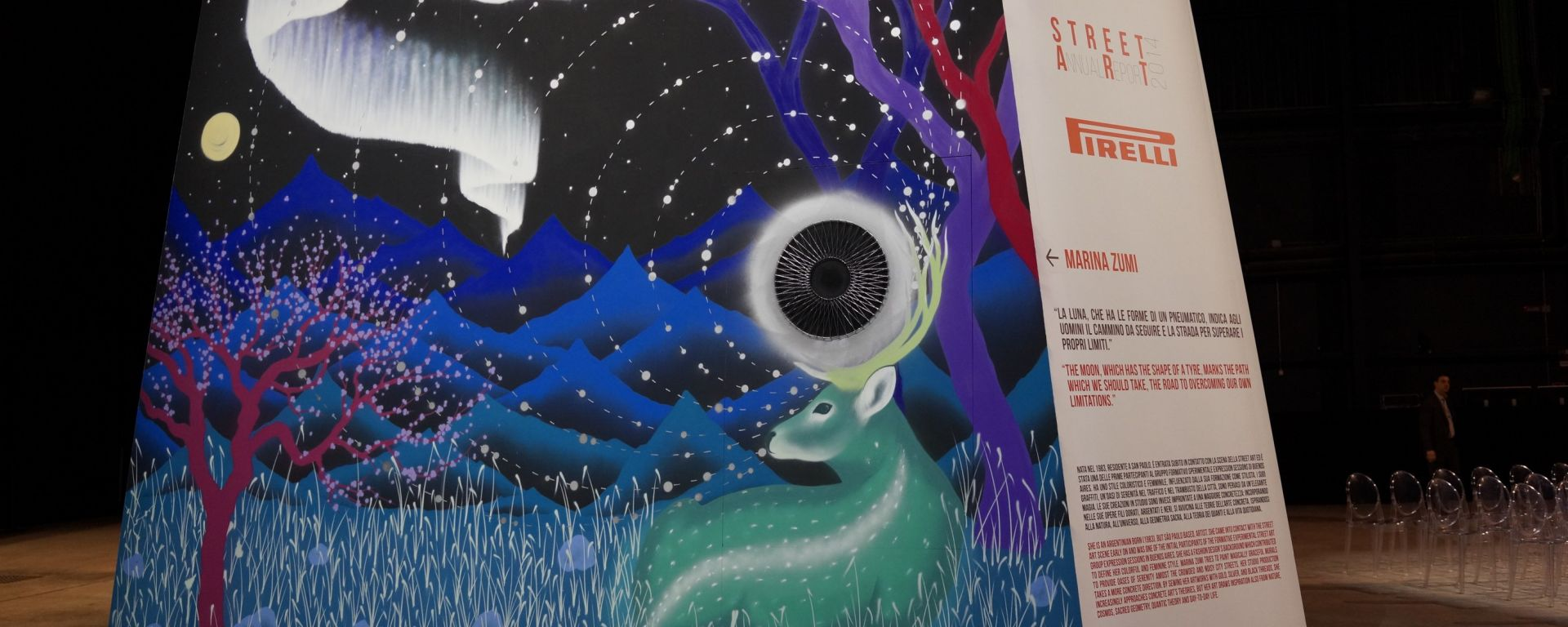 Pirelli: lo pneumatico diventa street art