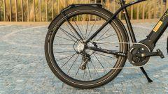 Pirelli Nomades: la ruota posteriore