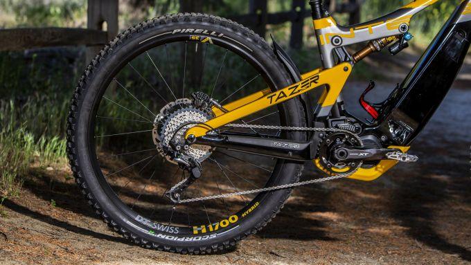 Pirelli Scorpion E-MTB: ruota posteriore