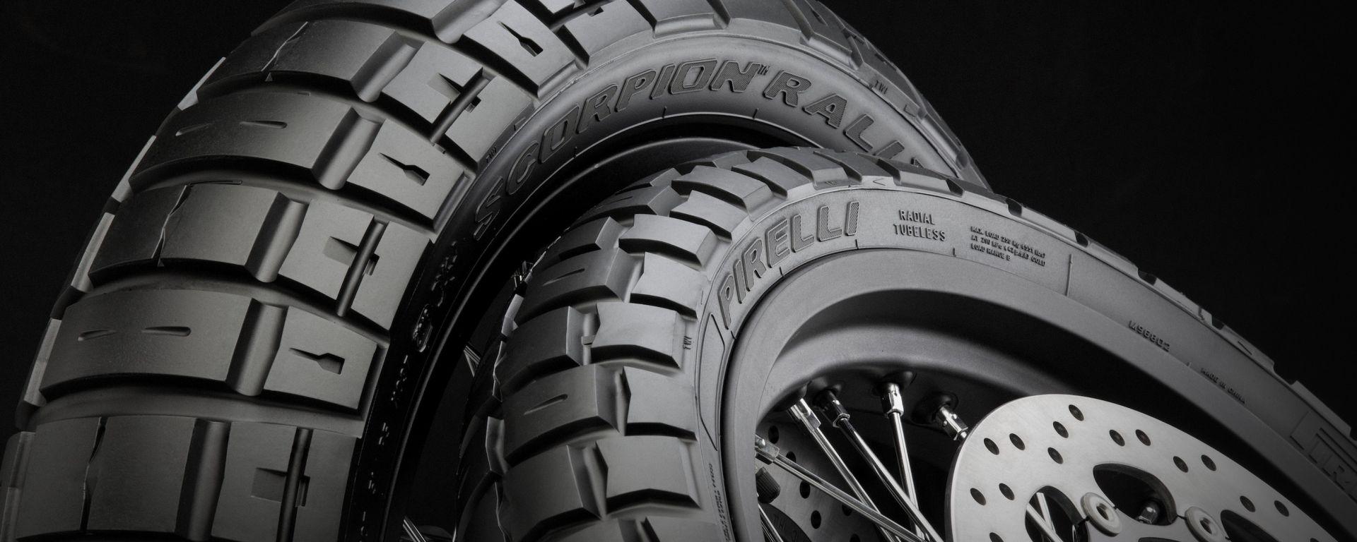Pirelli Scorpion Rally STR, il tassellato da scrambler