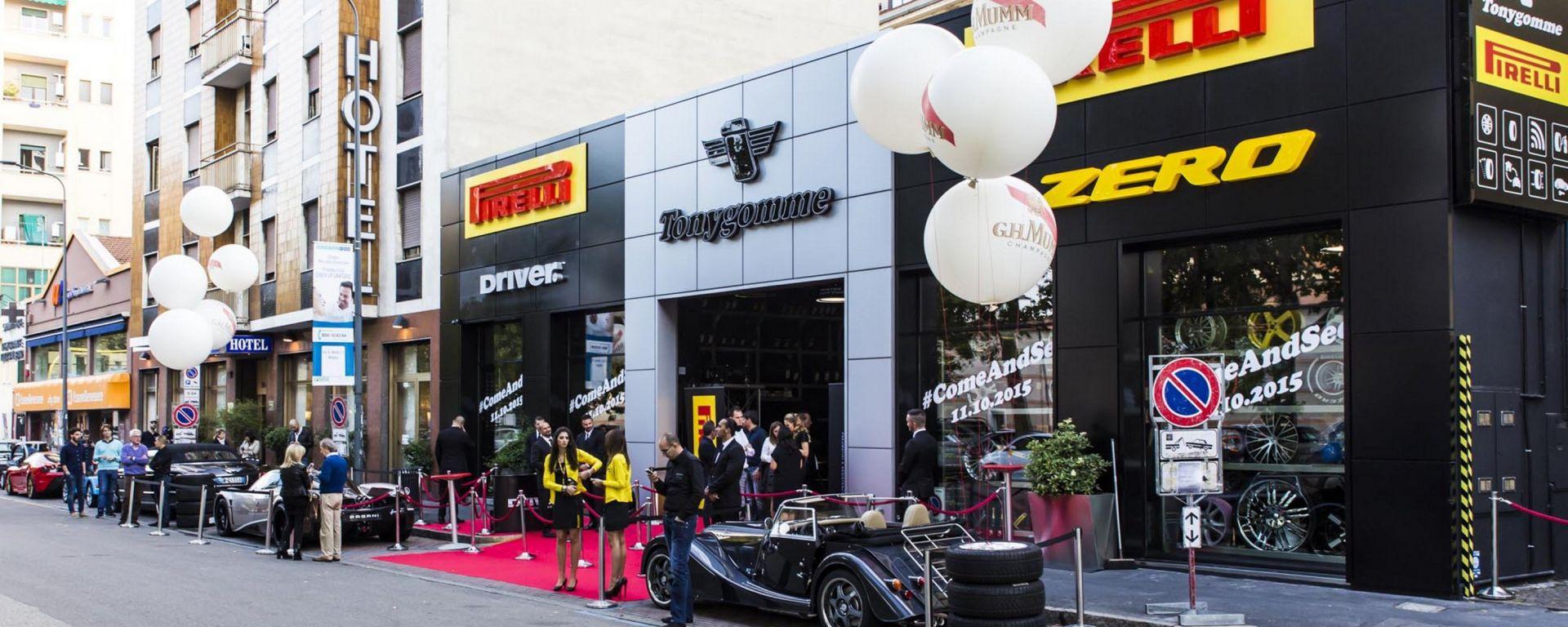 Pirelli: Tonygomme diventa Driver Center